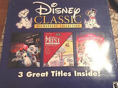 DISNEY CLASSIC DALMATIANS COLLECTION 102 Dalmatians software and game collection