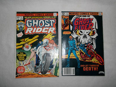 Ghost Rider  # 12  & # 81 The Saga Concludes !!