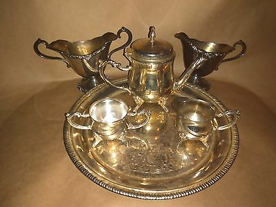 Mixed Lot Of Silver Plated Serving Pieces Home Decor Items