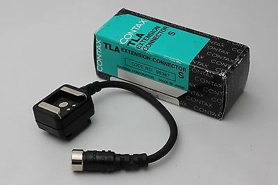 """Mint"" CONTAX TLA EXTENSION conecter S w/Box From Japan #332"