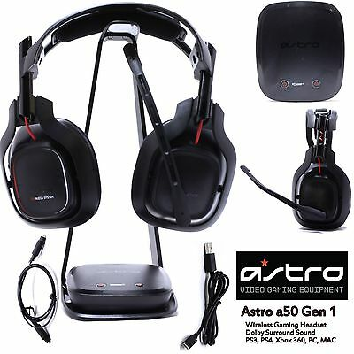 ASTRO Gaming A50 Gen 1 for PS4 PS3 XBOX 360 PC Mac Wireless Gaming Headset