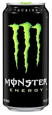 Monster Energy Drink, 16 Ounce (Pack of 24)