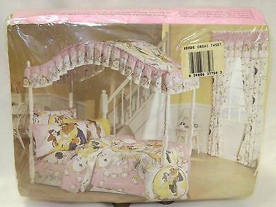 Disney Beauty and the Beast Twin Sheet Set Vintage NEW IN PACKAGE 3 pc set