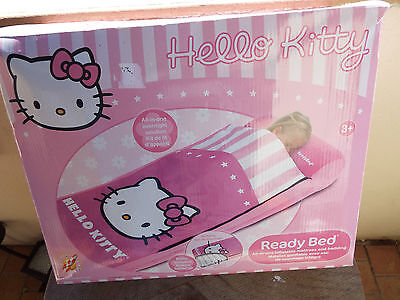 Ready Bed Matelas D'appoint Gonflable Avec Sac De Couchage Hello Kitty Tbe