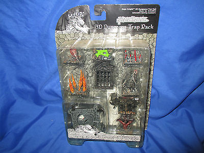Mage Knight 3D Dungeons Trap Pack - WizKids WZK0912  Sealed Rare!