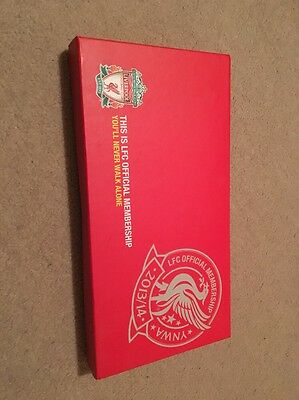 Liverpool FC Membership Box 2013-14 Boxed inc 175 Page Book-120 Men who made LFC