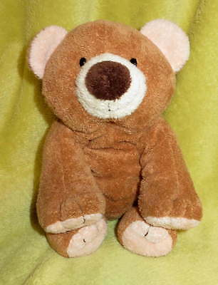 "Ty PLUFFIES Washable SLUMBERS 9"" Brown BEAR Lovie TOY Lovey Clean All Ages Soft"