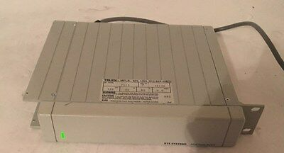 Telex RTS System PS-15 Two Wire TW Intercom Rackmount Power Supply