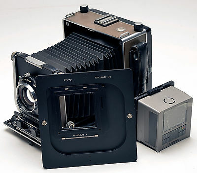 Rotate adapter Hasselblad V back For Linhof 4x5