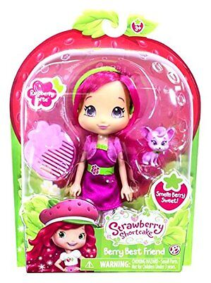 Raspberry Torte Doll & Pet - Scented - NEW Strawberry Shortcake