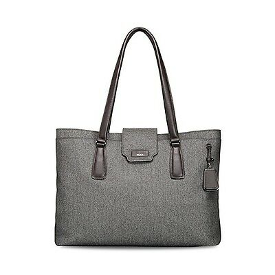 NEW Tumi Sinclair Tegan Business Tote Laptop Bag  79385 $495 EARL GRAY GREY