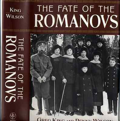 'Fate of the Romanov 's' Russia Russiaon Tzar History Reference Book Catalog