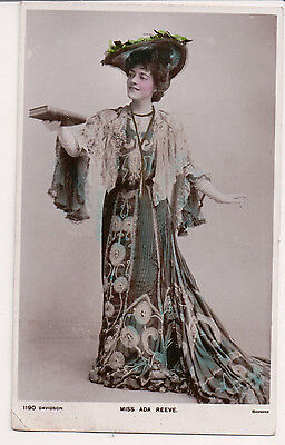 Vintage RPPC Ada Reeve English actress of both stage and film