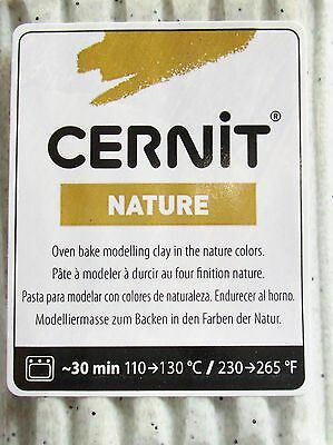 CERNIT - NATURE - Polymer Clay - 56g BLOCK - AGATE