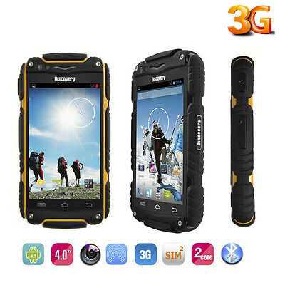 Android Discovery V8 Smartphone Rugged Mobile Phone 2Sim Factory Unlocked 4Color