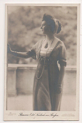 Vintage Postcard Princess Eitel Friedrich, Duchess Sophia Charlotte of Oldenburg