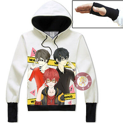 Anime Game Mystic Messenger Unisex Jacket Cosplay Hoodie Pullover Coat#SSW41