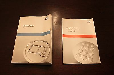 2012 Volkswagen Touareg Owners Manual With Mobile Phone Manual