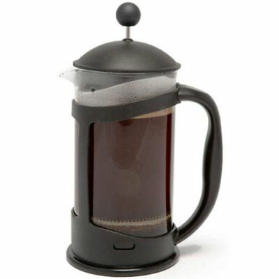 Coffee Plunger 3 Cup 350ml Stainless Steel / Glass Cafetiere French Filter Coffe