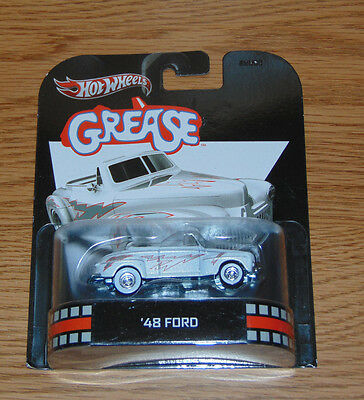Hot Wheels 1948 Ford GREASE Retro Entertainment New 2012 MOVIE Movies