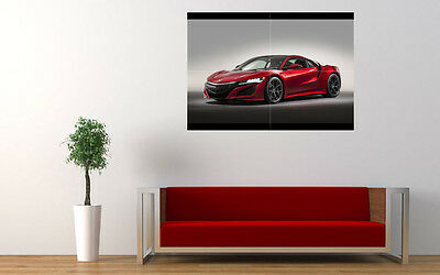 """2015 HONDA NSX NEW GIANT LARGE ART PRINT POSTER PICTURE WALL 33.1""""x23.4"""""""