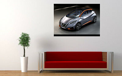 """2015 NISSAN SWAY CONCEPT NEW LARGE ART PRINT POSTER PICTURE WALL 33.1""""x23.4"""""""