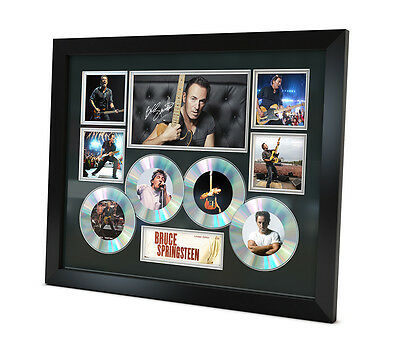 Bruce Springsteen Signed photo Music Memorabilia Limited Edition of 250 & FRAMED