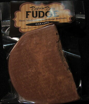 CARAMEL FUDGE - Handmade Gluten and Preservative Free 6 x 60g Vac Sealed