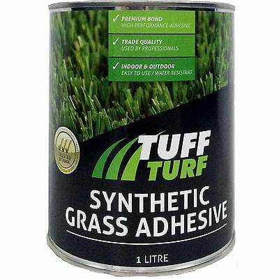 Tuff Turf SYNTHETIC GRASS ADHESIVE Water & Heat Resistant *Aust Brand - 1 Or 4L
