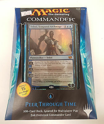 MTG Magic 2014 Commander Deck Peer Through Time FACTORY SEALED