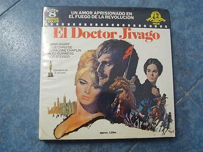 Pelicula-El Doctor  Zivago – Super 8 Mm, Retro  Vintage Film