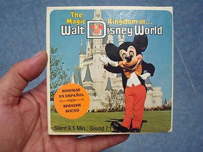Pelicula Vintage Super 8 Mm –The Magic Kingdom At Walt Disney World