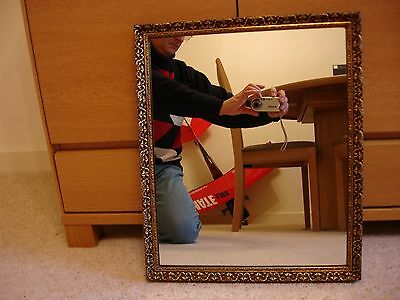 Antique Gilt Wall Hanging Mirror