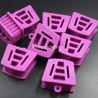 10x Dental Silicone Mouth Prop Bite Block Cushion Opener Retractor Large Adult
