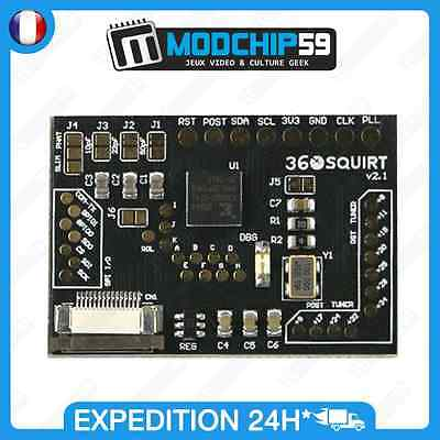 Squirt 2.1 like 2.0 new bga pcb 100mhz carte électronique de developpement