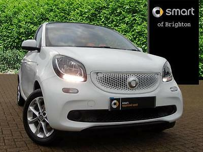 2015 smart forfour 1.0 Passion 5dr Petrol white Manual