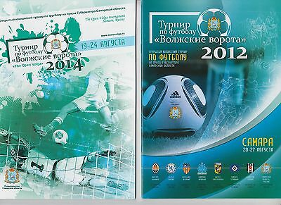 Sale lot 2 programs Youth Tournament Russia 2012 2014 / Chelsea England
