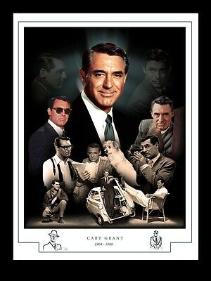 Cary Grant Montage Print 1904 - 1986