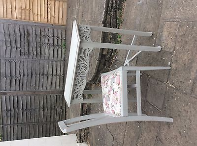 Shabby chic table and chair