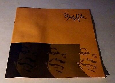 Vintage Nat King Cole  History Of His Life . The Man And His Music Rare