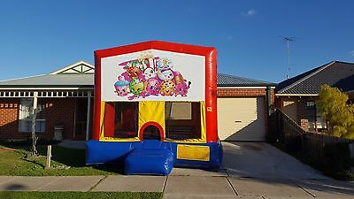 Shopkins Jumping Castle Hire Geelong