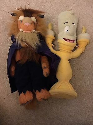 Beauty And The Beast Plush Toy Lumiere and Beast