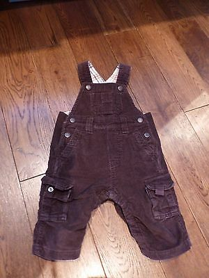 Baby Gap Brown Cord Dungarees size 3-6 months & Top*
