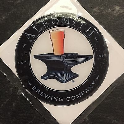 Alesmith Brewing Company Beer Tap Badge, Decal, Top