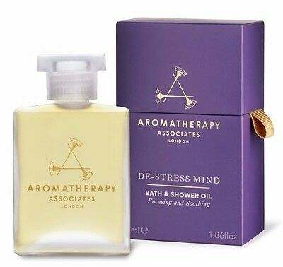 Aromatherapy Associates De-Stress Mind Bath & Shower Oil 55ml RRP £45