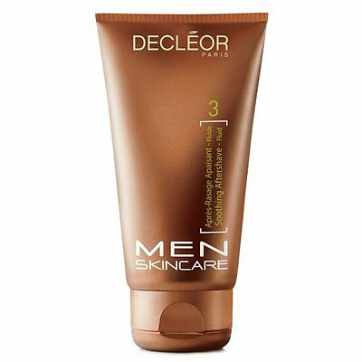 Decleor Men Skincare Soothing Aftershave Fluid 75ml - BRAND NEW BOXED - UK