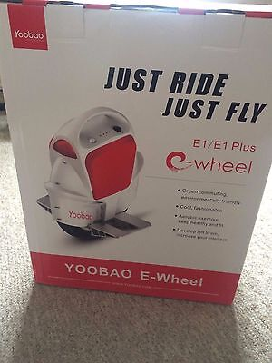 Yoobao Electrical power unicycle One Wheel Electric Scooter used with box