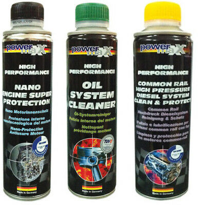 POWERMAXX Common Rail cod 33098+Nano Engine cod 33181+Oil System Cleaner 33018