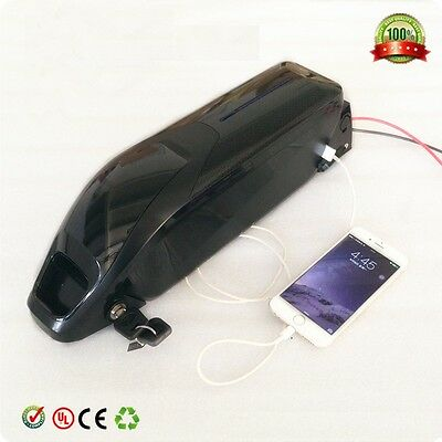 E Bike Battery 48v 11.6ah lithium battery with Panasonic cells and 30A BMS