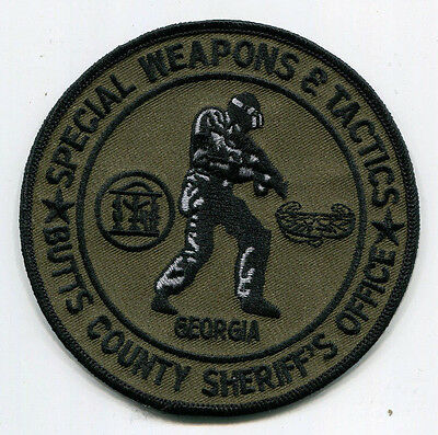 Butts County Georgia Sheriff's Office Special Weapons & Tactics Patch // SWAT